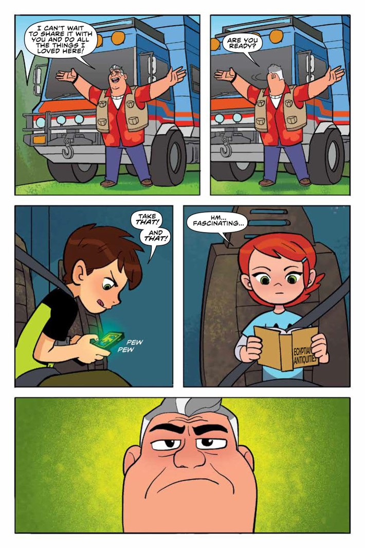 Ben10_TruthOutThere_v1_OGN_PRESS_12 ComicList Previews: BEN 10 THE TRUTH IS OUT THERE GN