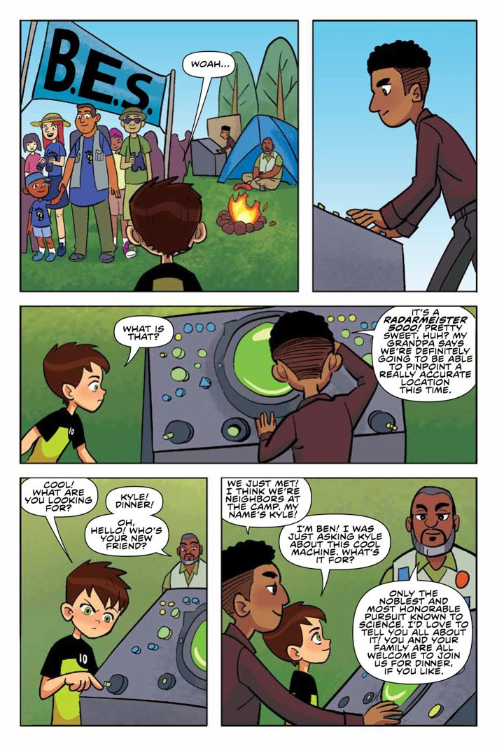 Ben10_TruthOutThere_v1_OGN_PRESS_17 ComicList Previews: BEN 10 THE TRUTH IS OUT THERE GN