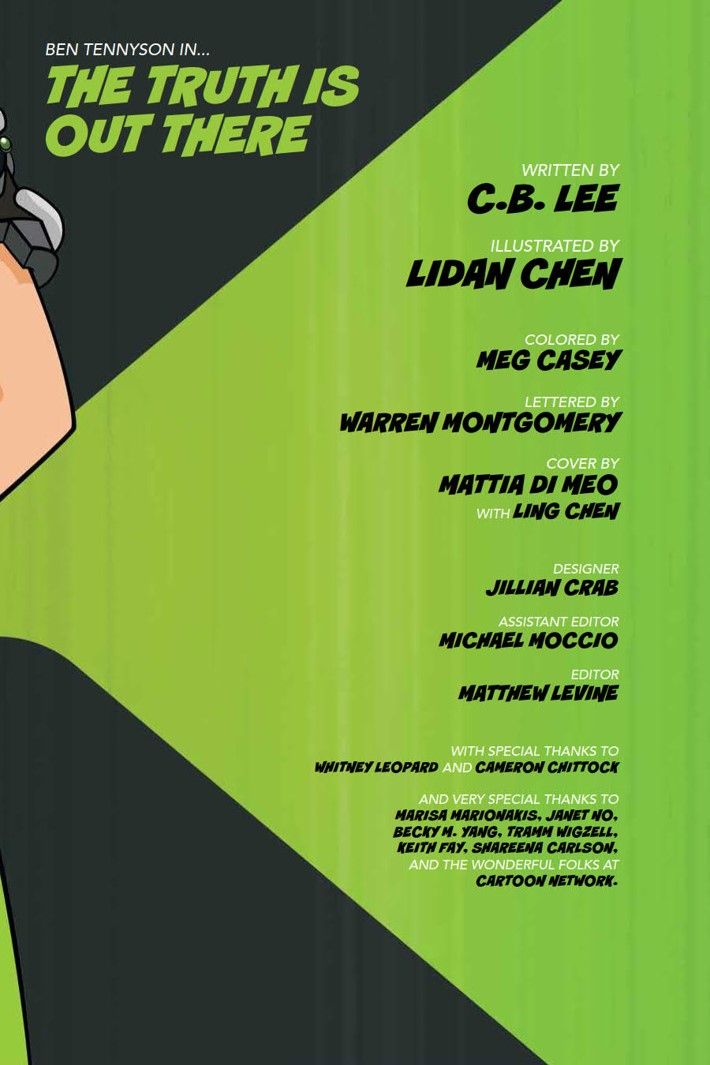 Ben10_TruthOutThere_v1_OGN_PRESS_7 ComicList Previews: BEN 10 THE TRUTH IS OUT THERE GN