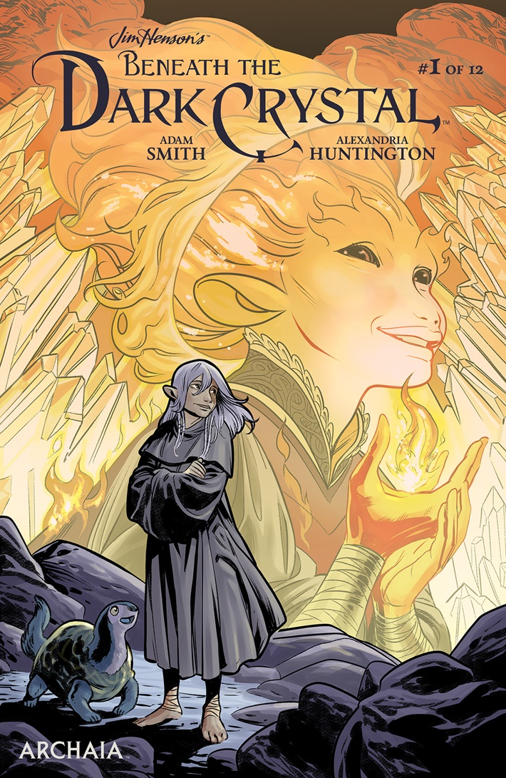 BeneathDarkCrystal_001_A_Main ComicList Previews: JIM HENSON'S BENEATH THE DARK CRYSTAL #1