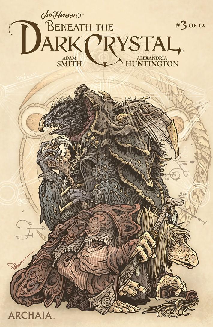 BeneathDarkCrystal_003_B_Subscription ComicList Previews: JIM HENSON'S BENEATH THE DARK CRYSTAL #3