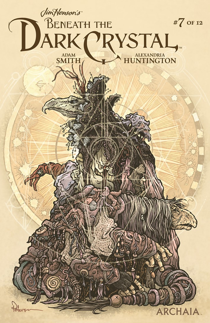 BeneathDarkCrystal_007_B_Preorder ComicList Previews: JIM HENSON'S BENEATH THE DARK CRYSTAL #7