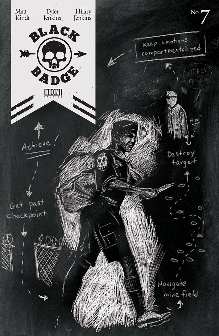 BlackBadge_007_A_Main ComicList Previews: BLACK BADGE #7