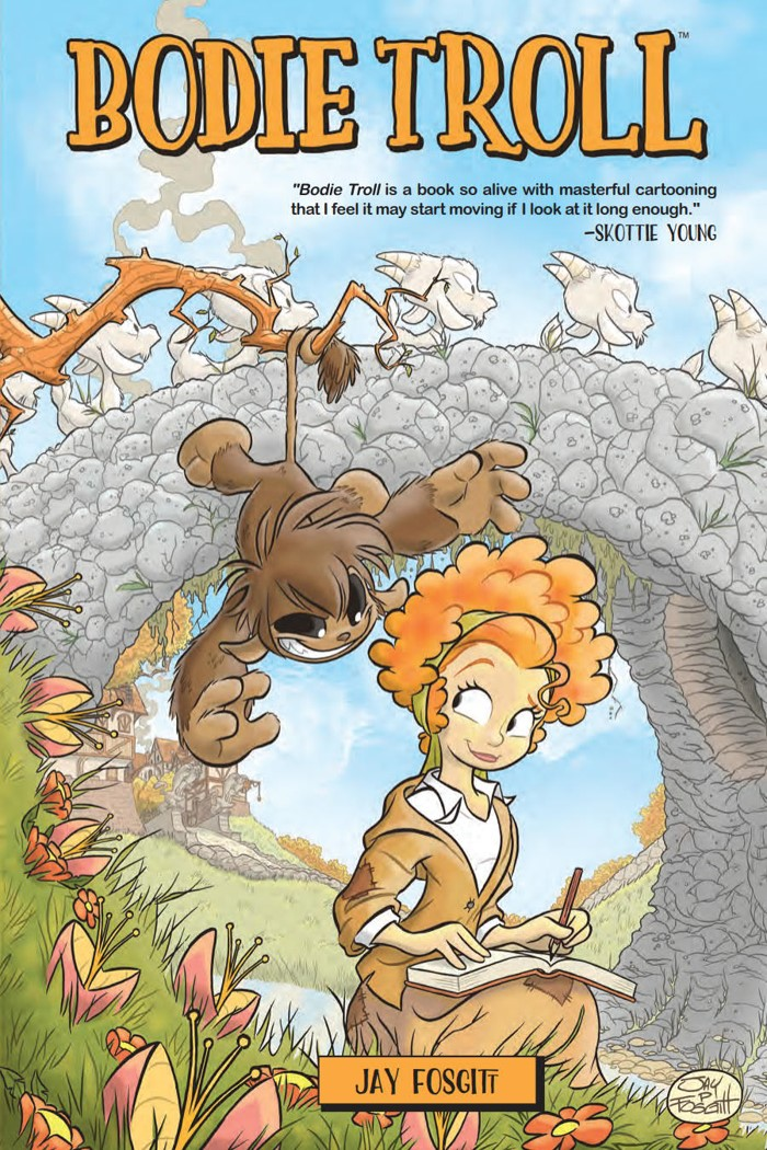 BodieTroll_OGN_PRESS_1 ComicList Previews: BODIE TROLL GN