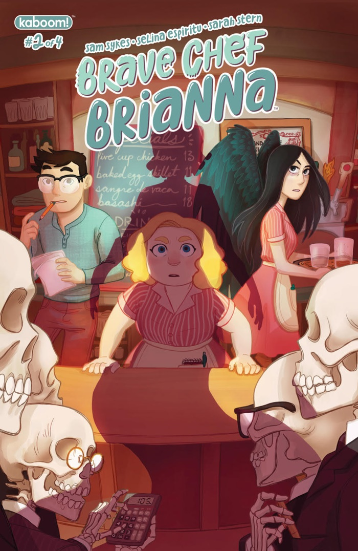 BraveChefBrianna_002_PRESS_1 ComicList Preview: BRAVE CHEF BRIANNA #2