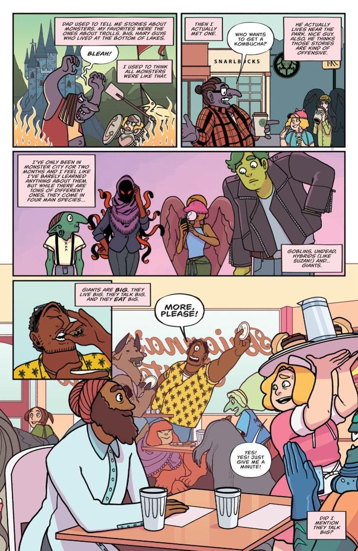 BraveChefBrianna_002_PRESS_3 ComicList Preview: BRAVE CHEF BRIANNA #2