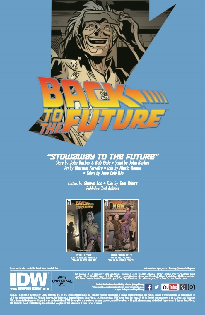 BttF_Timelines_18-pr-2 ComicList Preview: BACK TO THE FUTURE #18