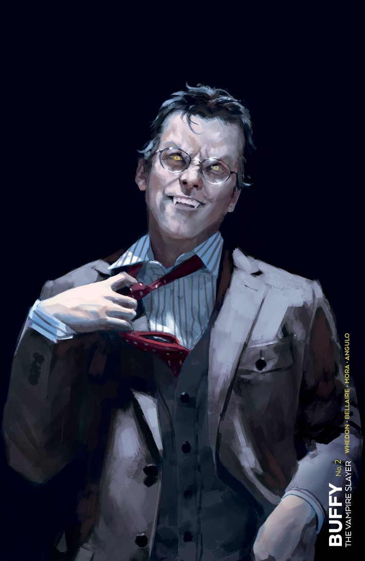 Buffy_002_H_UnlockedVampireGilesVariant ComicList Previews: BUFFY THE VAMPIRE SLAYER #2