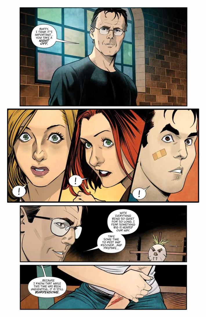 Buffy_004_PRESS_6 ComicList Previews: BUFFY THE VAMPIRE SLAYER #4