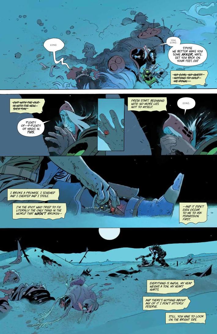 CODA_009_PRESS_4 ComicList Previews: CODA #9
