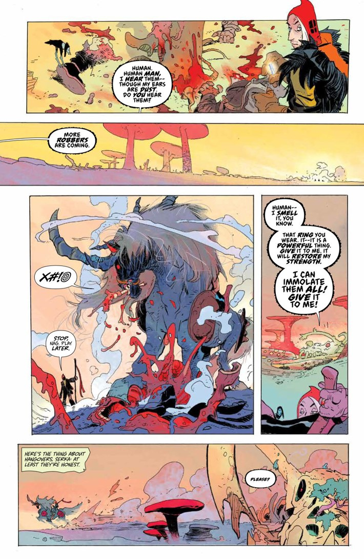 CODA_v1_DiscoverNow_SC_PRESS_12 ComicList Previews: CODA VOLUME 1 TP (DISCOVER NOW EDITION)