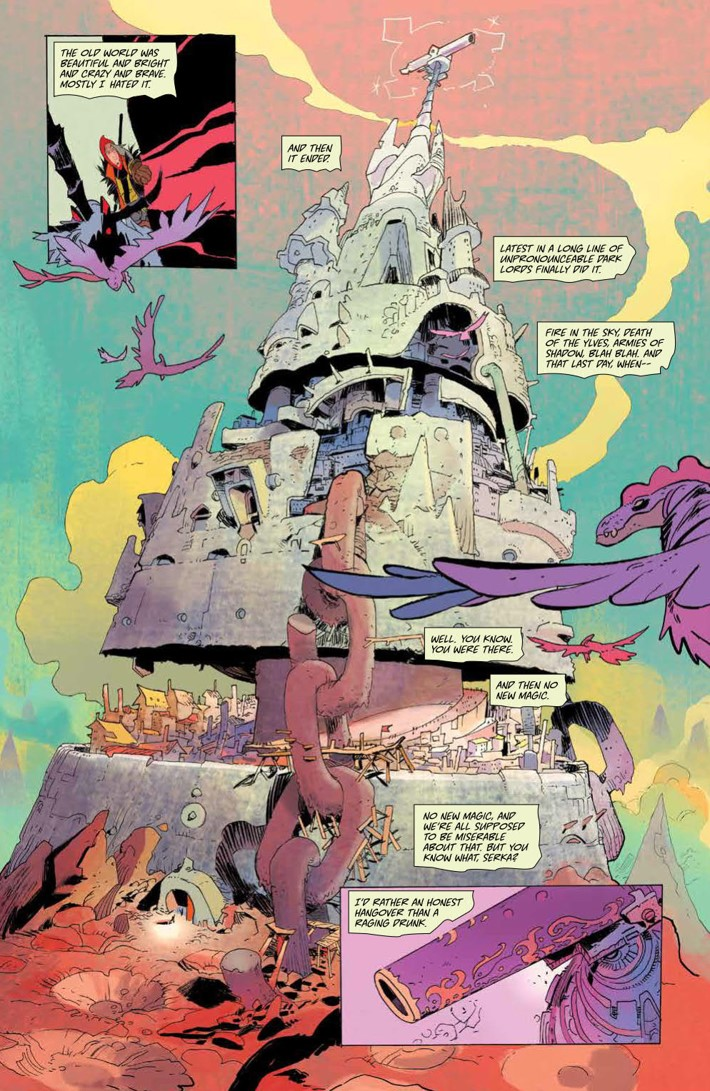 CODA_v1_DiscoverNow_SC_PRESS_15 ComicList Previews: CODA VOLUME 1 TP (DISCOVER NOW EDITION)