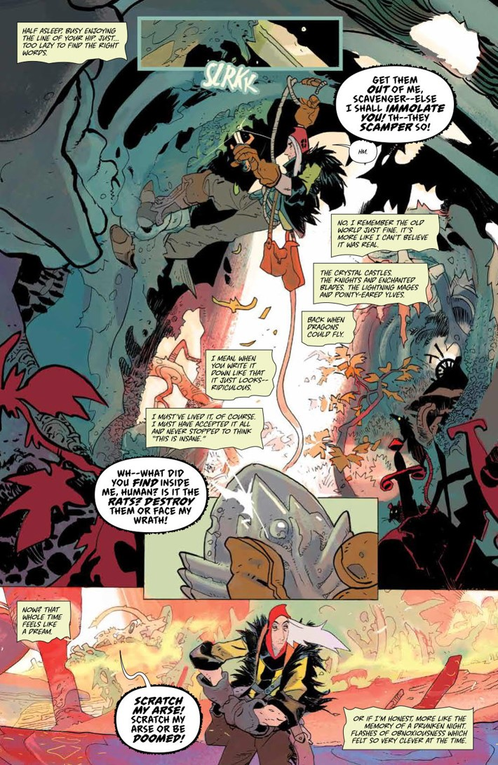CODA_v1_DiscoverNow_SC_PRESS_9 ComicList Previews: CODA VOLUME 1 TP (DISCOVER NOW EDITION)