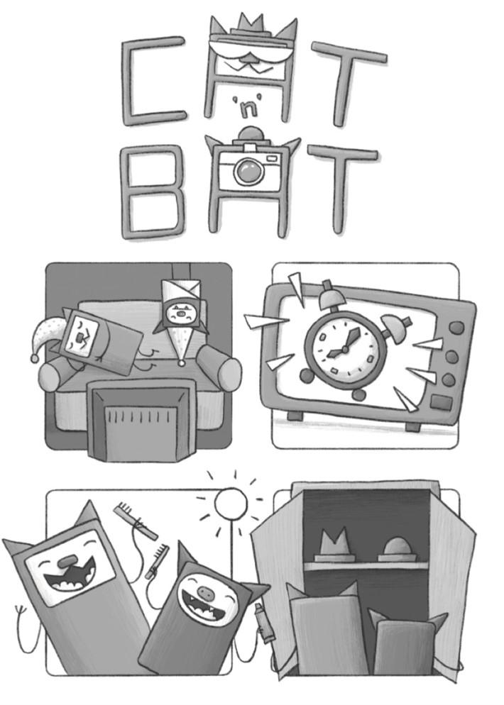 CatnBat-pr-3 ComicList Previews: CAT 'N' BAT TP