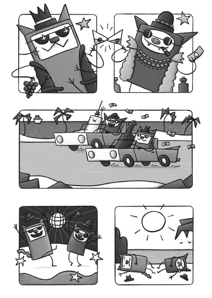CatnBat-pr-6 ComicList Previews: CAT 'N' BAT TP