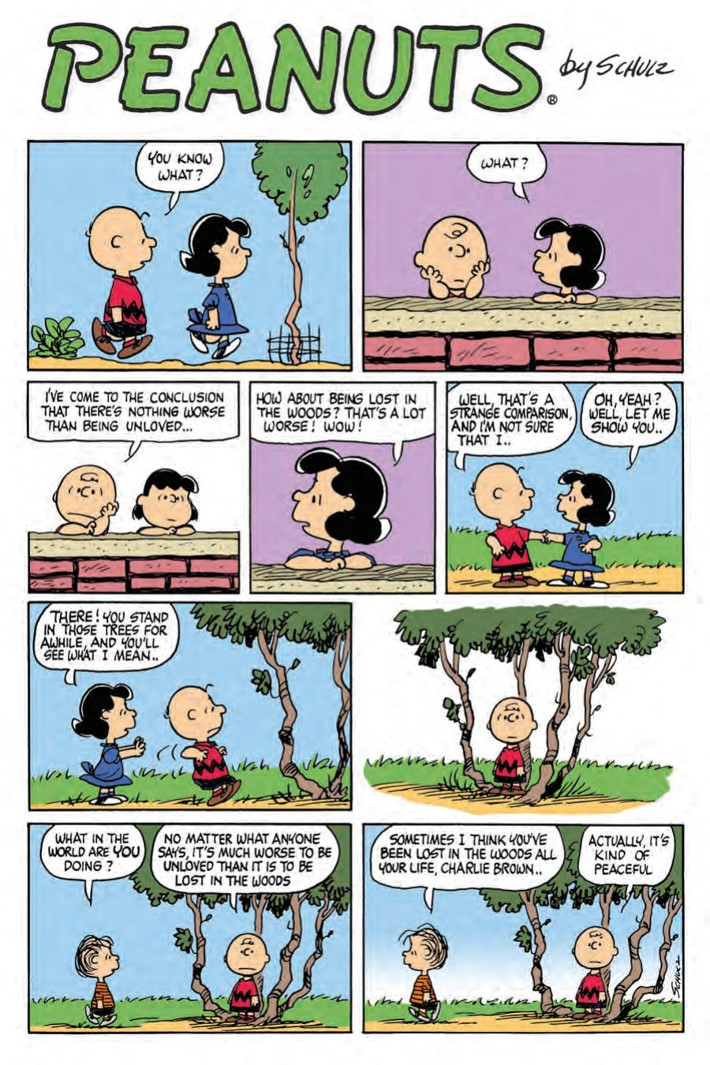 CharlieBrown_HC_PRESS_24 ComicList Previews: CHARLIE BROWN A PEANUTS COLLECTION HC