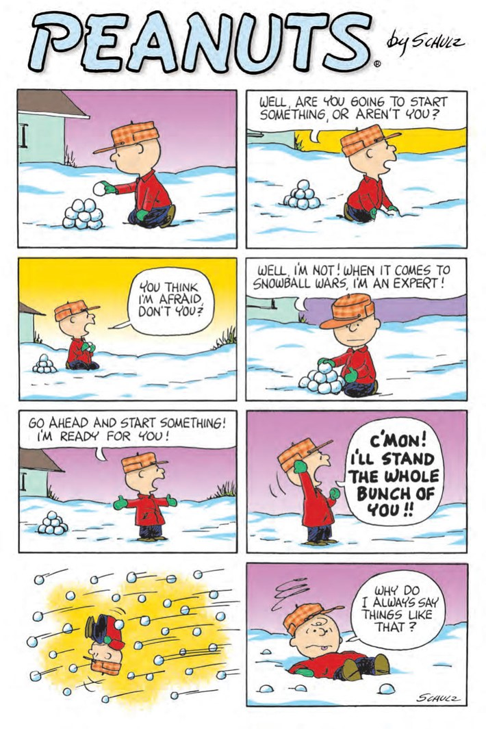 CharlieBrown_HC_PRESS_47 ComicList Previews: CHARLIE BROWN A PEANUTS COLLECTION HC