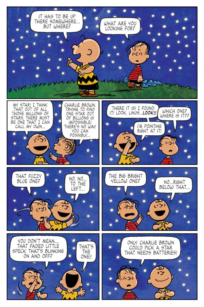 CharlieBrown_HC_PRESS_7 ComicList Previews: CHARLIE BROWN A PEANUTS COLLECTION HC