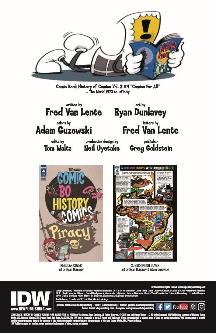ComicBookHistory_v2_04-pr-2 ComicList Previews: COMIC BOOK HISTORY OF COMICS COMICS FOR ALL #4