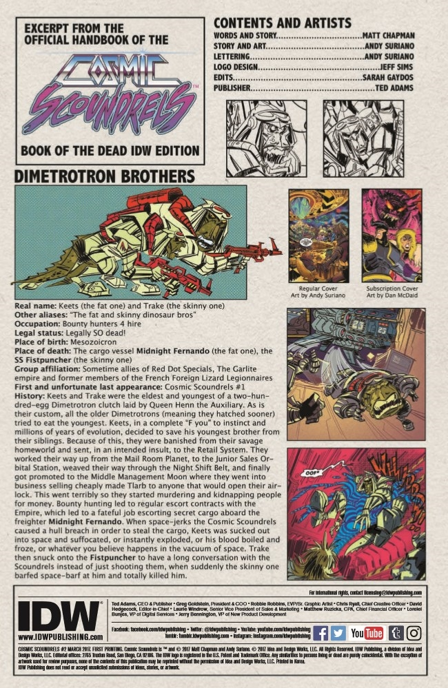Cosmic_Scoundrels02-pr-2 ComicList Preview: COSMIC SCOUNDRELS #2