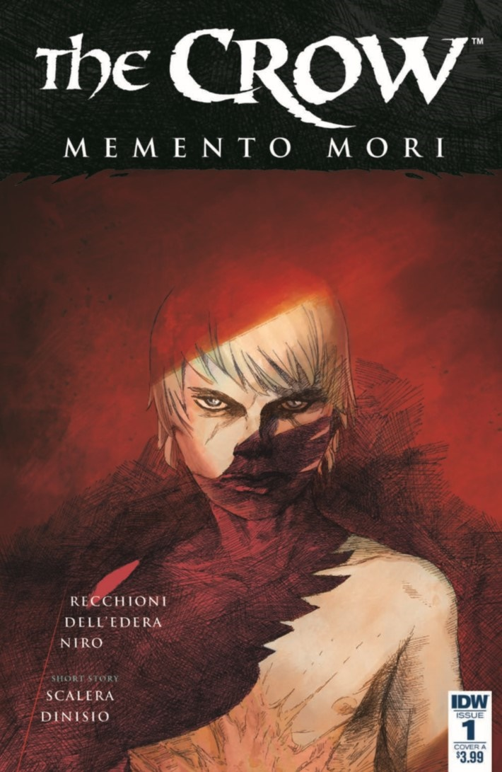 Crow_MM_01-pr-1 ComicList Previews: THE CROW MEMENTO MORI #1