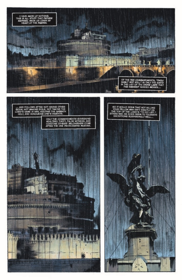 Crow_MM_01-pr-5 ComicList Previews: THE CROW MEMENTO MORI #1