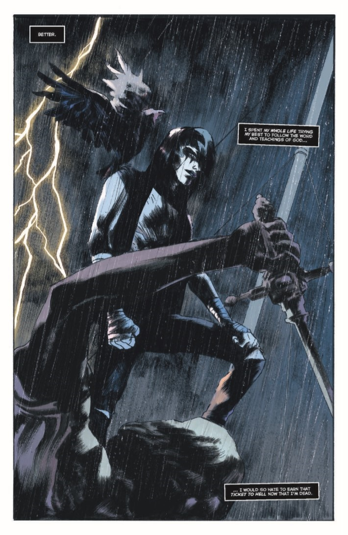 Crow_MM_01-pr-6 ComicList Previews: THE CROW MEMENTO MORI #1