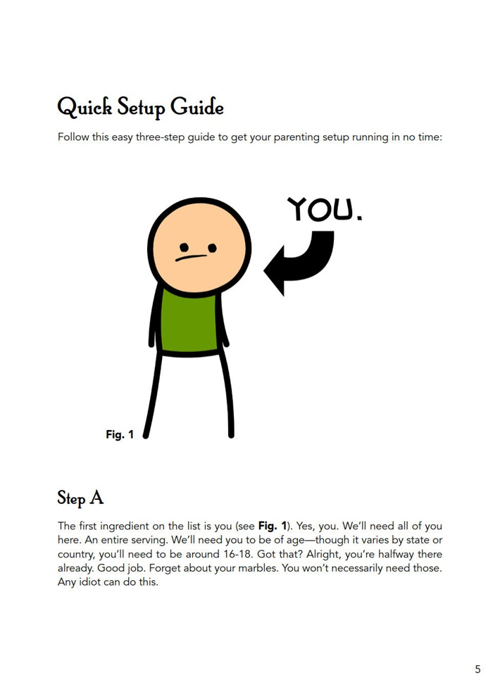 CyanideHappiness_Parenting_SC_PRESS_7 ComicList Previews: CYANIDE AND HAPPINESS A GUIDE TO PARENTING BY THREE GUYS WITH NO KIDS TP