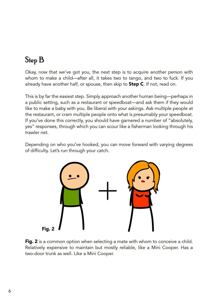 CyanideHappiness_Parenting_SC_PRESS_8 ComicList Previews: CYANIDE AND HAPPINESS A GUIDE TO PARENTING BY THREE GUYS WITH NO KIDS TP