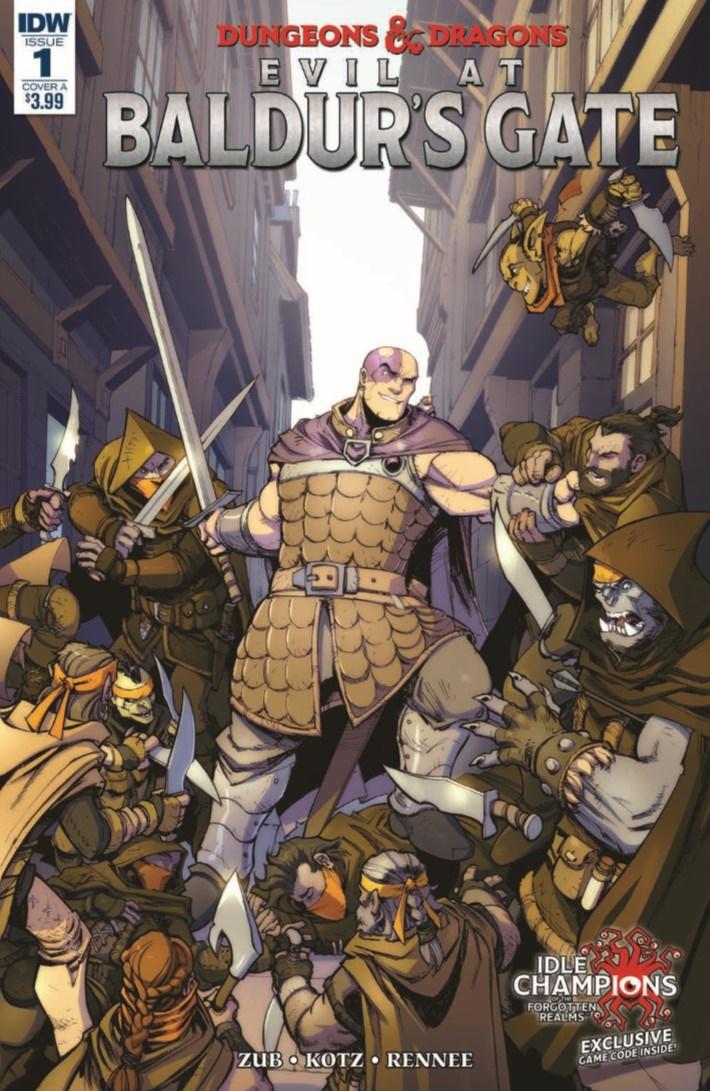D&D_Baldur_01-pr-1 ComicList Previews: DUNGEONS AND DRAGONS EVIL AT BALDUR'S GATE #1