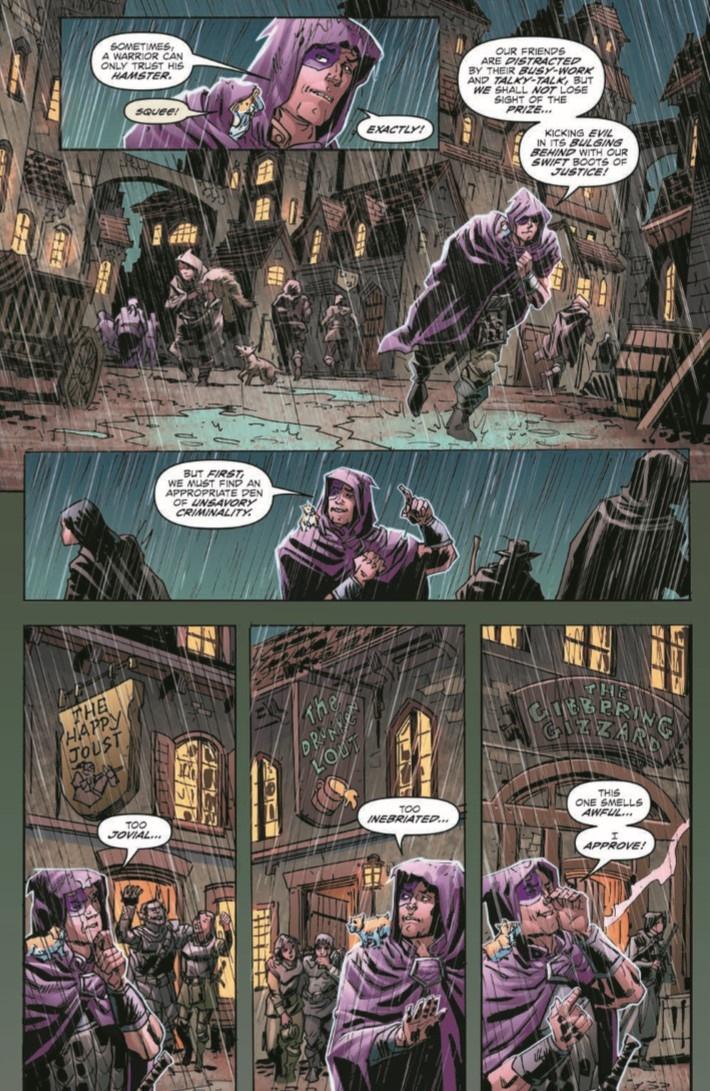 D&D_Baldur_01-pr-7 ComicList Previews: DUNGEONS AND DRAGONS EVIL AT BALDUR'S GATE #1