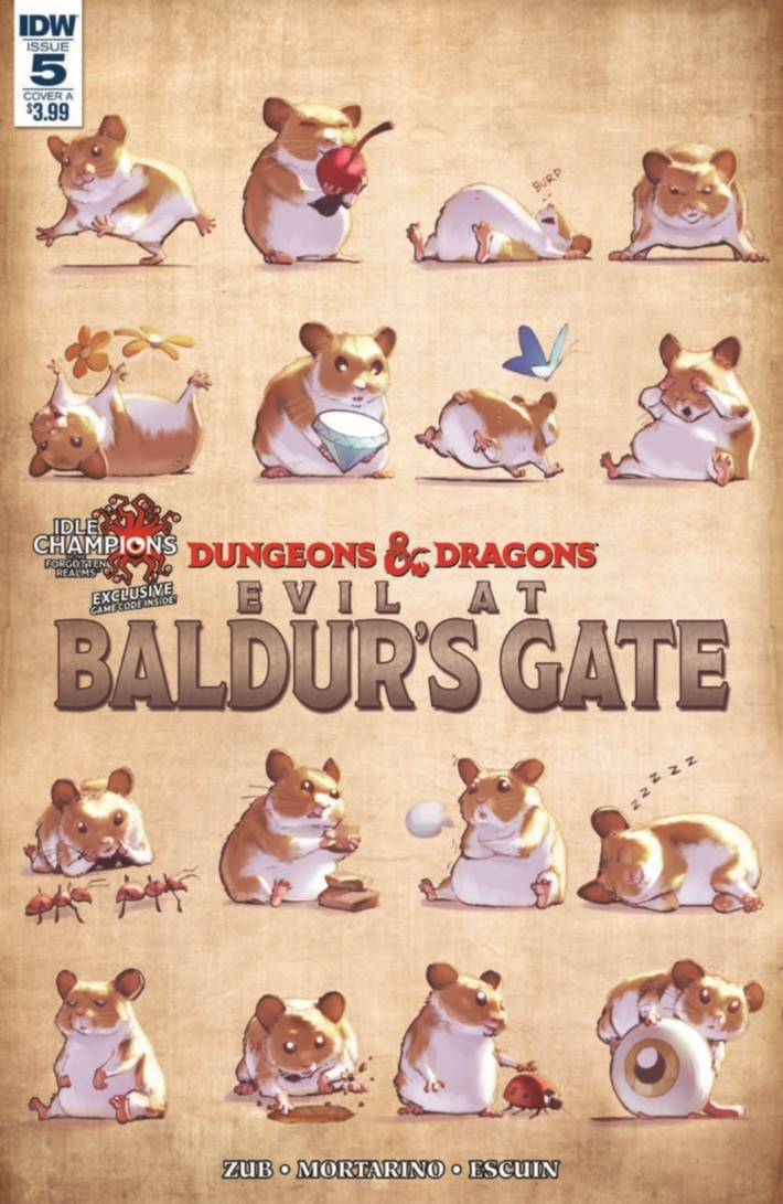 D&D_Evil_At_Baldurs_Gate_05-pr-1 ComicList Previews: DUNGEONS AND DRAGONS EVIL AT BALDUR'S GATE #5