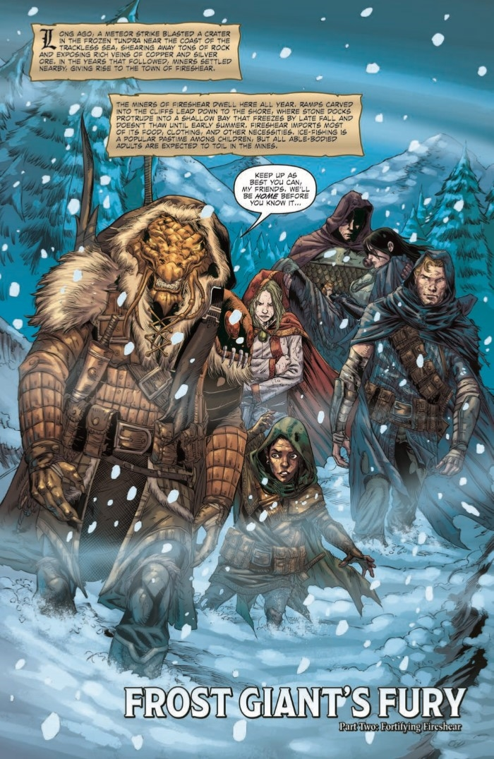 DD_FGF_02-pr-3 ComicList Preview: DUNGEONS AND DRAGONS FROST GIANT'S FURY #2