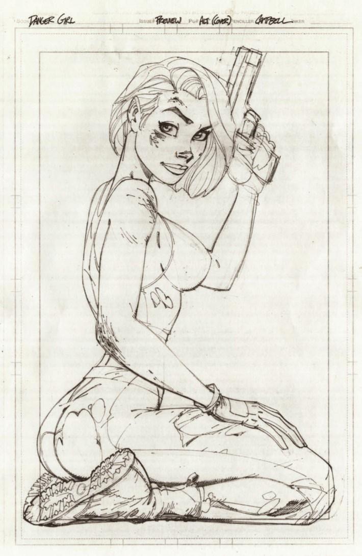 DG_20thAnniversary_reg-pr-3 ComicList Previews: J. SCOTT CAMPBELL'S DANGER GIRL 20TH ANNIVERSARY #1