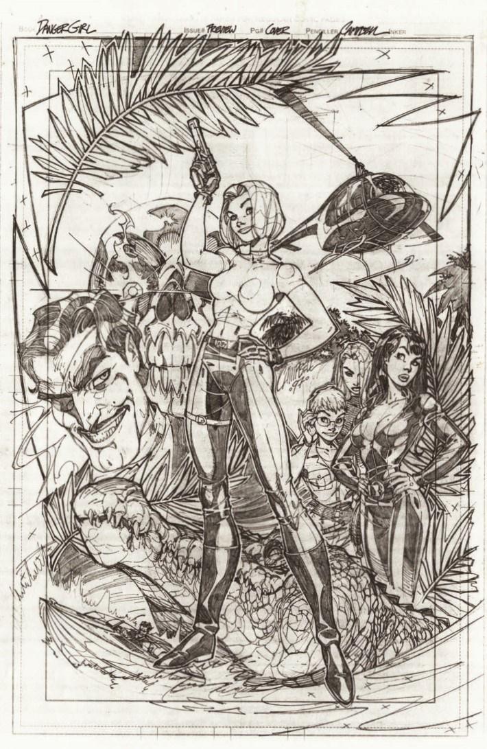 DG_20thAnniversary_reg-pr-4 ComicList Previews: J. SCOTT CAMPBELL'S DANGER GIRL 20TH ANNIVERSARY #1