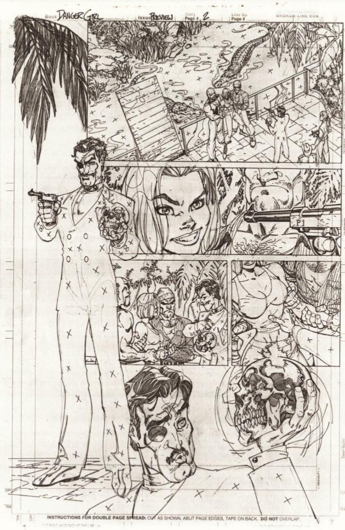 DG_20thAnniversary_reg-pr-6 ComicList Previews: J. SCOTT CAMPBELL'S DANGER GIRL 20TH ANNIVERSARY #1