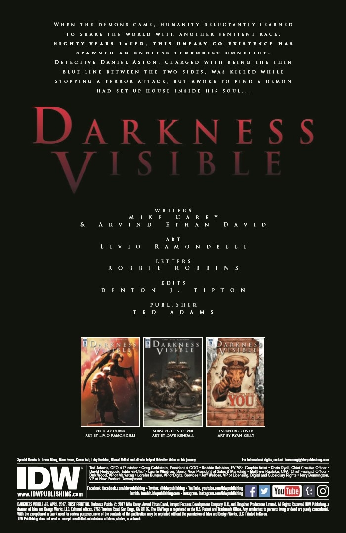 DV_03-pr-2 ComicList Preview: DARKNESS VISIBLE #3