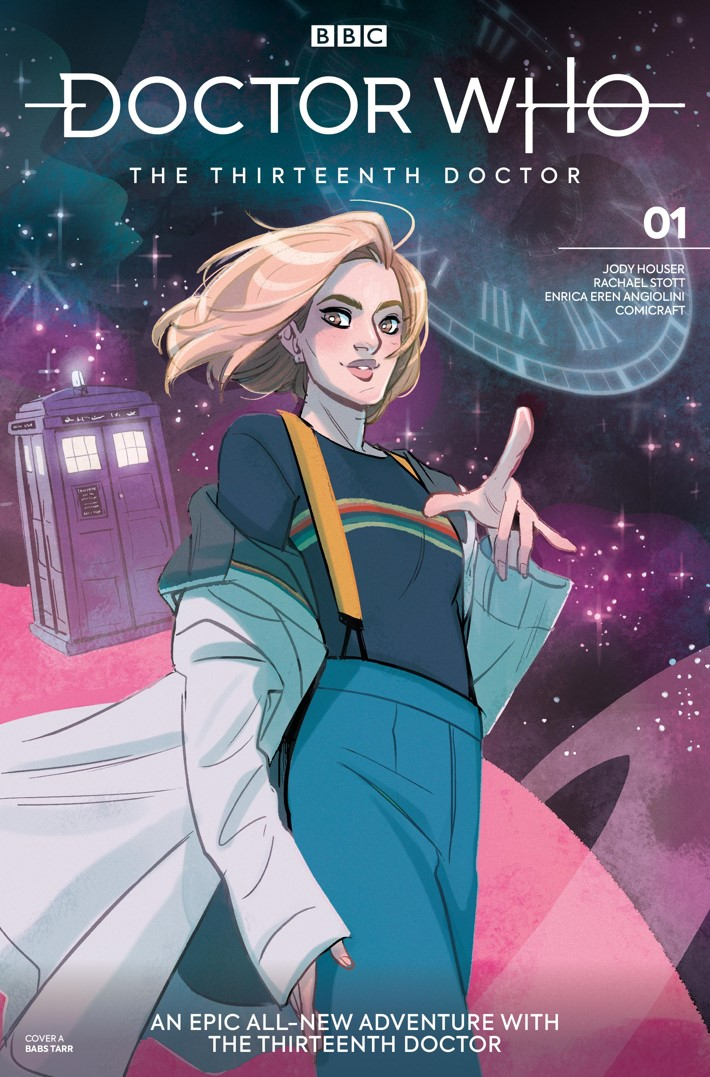 DW_13D1_Cover_A_Babs_Tarr ComicList Previews: DOCTOR WHO THE THIRTEENTH DOCTOR #1