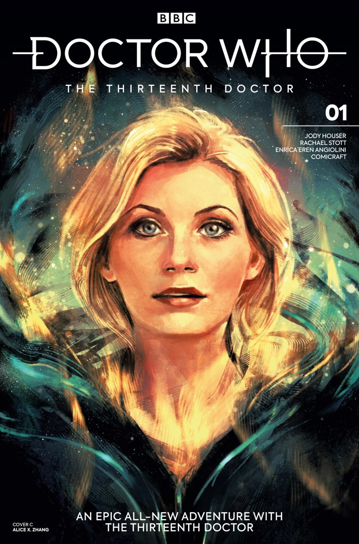 DW_13D1_Cover_C_Alice_X_Zhang ComicList Previews: DOCTOR WHO THE THIRTEENTH DOCTOR #1