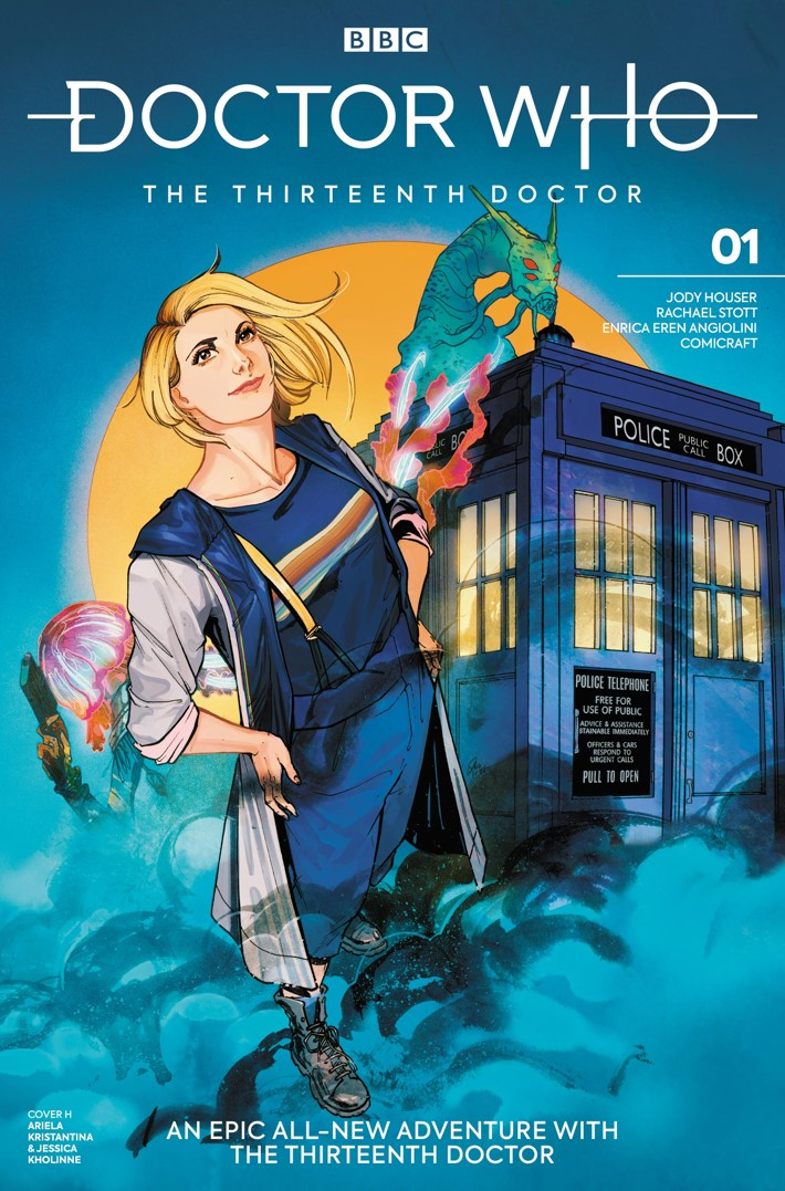 DW_13D1_Cover_H_Ariela_Kristantina_Jessica_Kholinne ComicList Previews: DOCTOR WHO THE THIRTEENTH DOCTOR #1