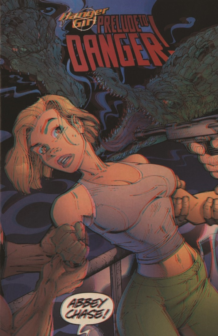 Danger_Girl_3D-pr-3 ComicList Previews: DANGER GIRL DANGEROUS VISIONS 3-D #1