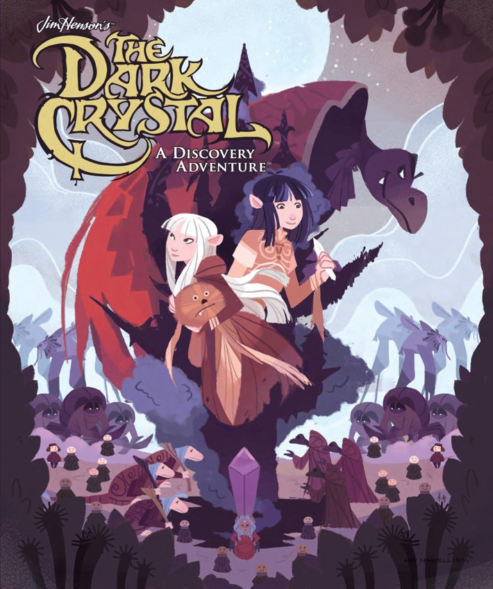 DarkCrystal_DiscoveryAdventure_PRESS_1 ComicList Previews: JIM HENSON'S THE DARK CRYSTAL A DISCOVERY ADVENTURE HC