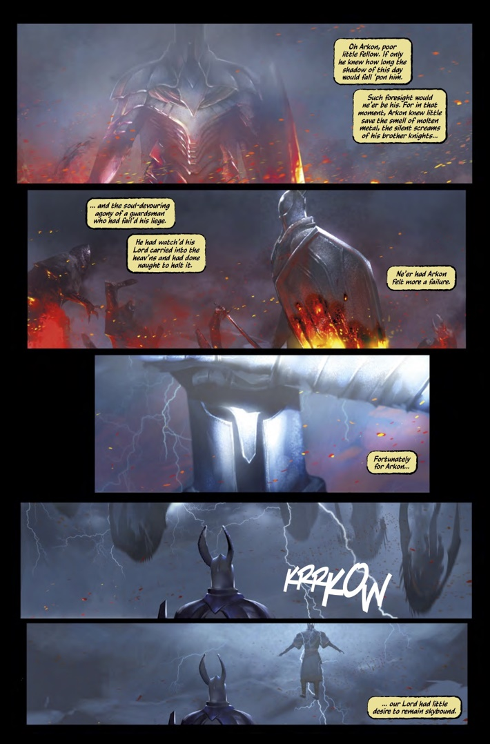 Dark_Souls_Age_of_Fire_1_Pg4 ComicList Previews: DARK SOULS THE AGE OF FIRE #1