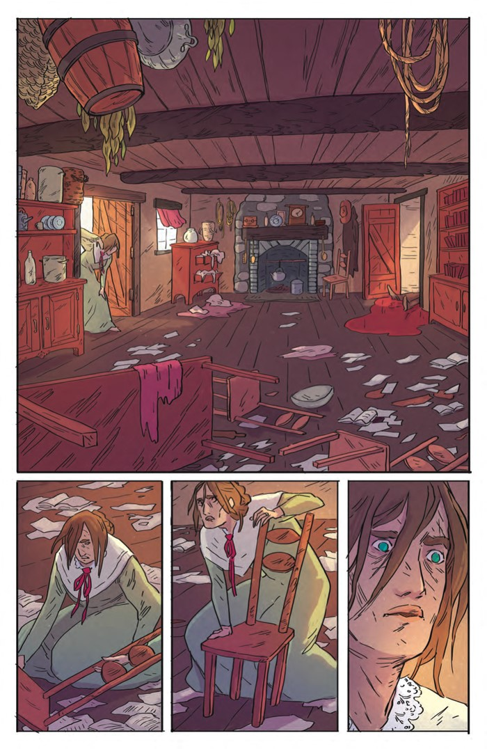 DeathBeDamned_SC_PRESS_11 ComicList Previews: DEATH BE DAMNED VOLUME 1 TP