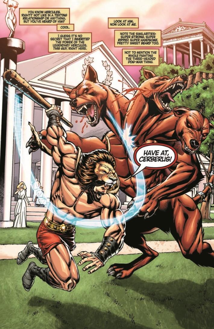 DemiGod_01-pr-4 ComicList Previews: DEMI-GOD #1