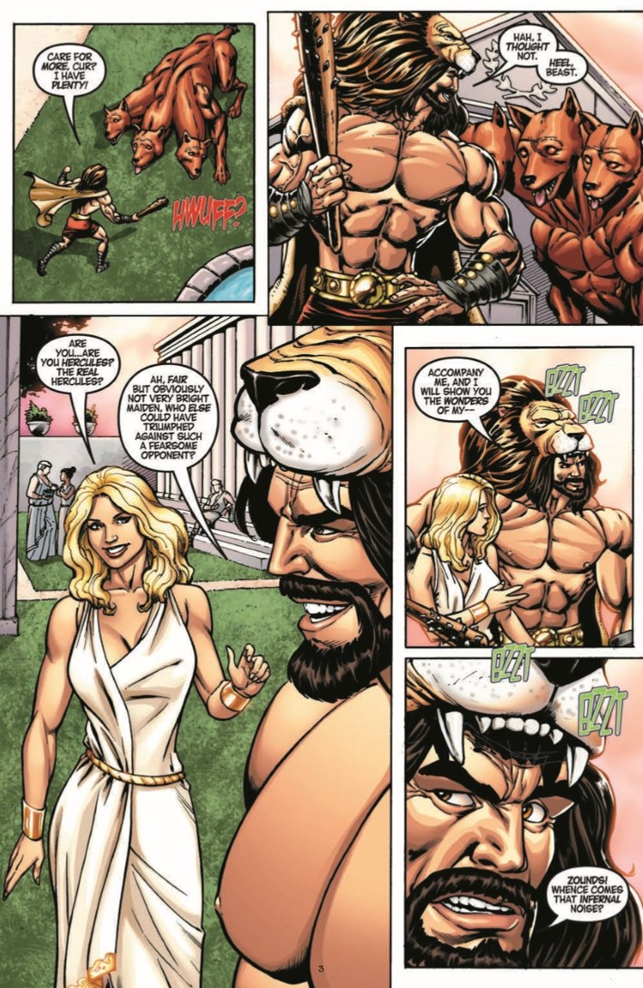 DemiGod_01-pr-5 ComicList Previews: DEMI-GOD #1