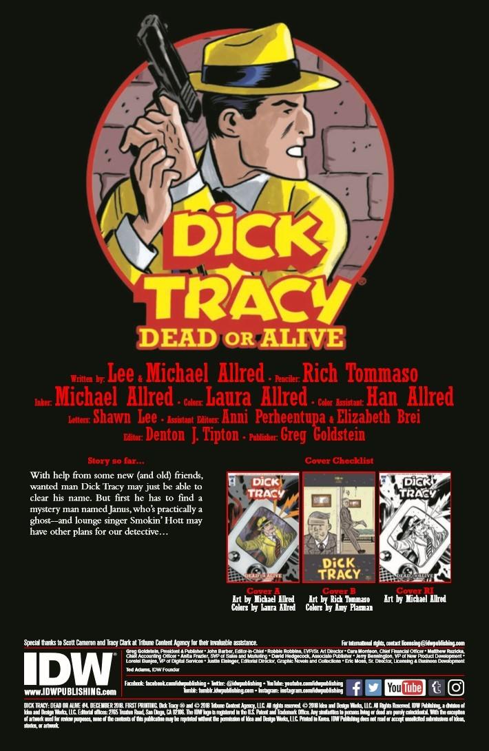 Dick_Tracy_Dead_Alive_04-pr-2 ComicList Previews: DICK TRACY DEAD OR ALIVE #4