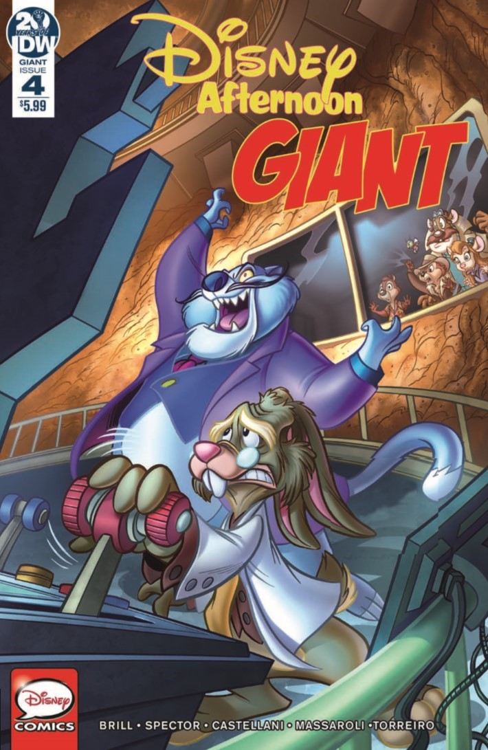 Disney_Afternoon_Giant_04-pr-1 ComicList Previews: DISNEY AFTERNOON GIANT #4