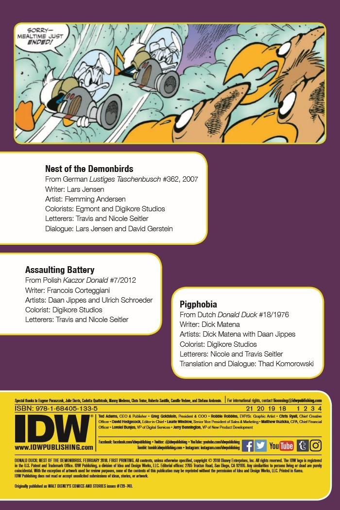 DonaldDuck_Nest-pr-2 ComicList Previews: DONALD DUCK NEST OF THE DEMONBIRDS TP