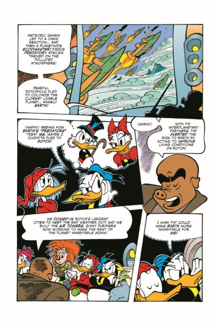 DonaldDuck_Nest-pr-6 ComicList Previews: DONALD DUCK NEST OF THE DEMONBIRDS TP